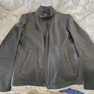 Hugo Boss Jackets & Coats - Men's leather jacket Hugo Boss